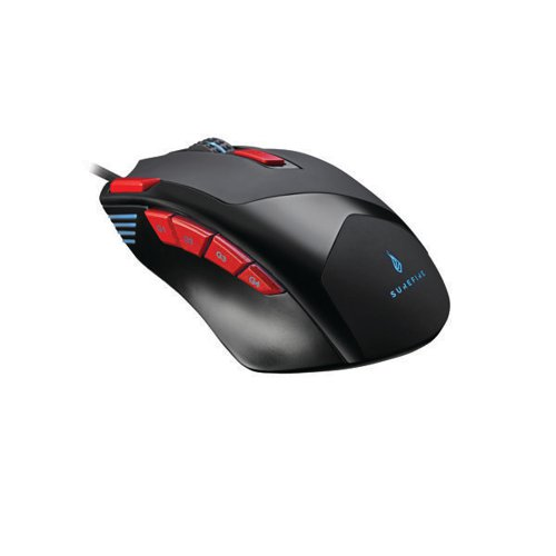 SureFire Eagle Claw Gaming 9-Button Mouse with RGB 48817