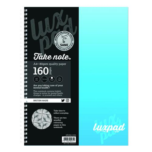 Silvine Sane Charity Notebooks A4 (Pack of 6) LUXA4CP