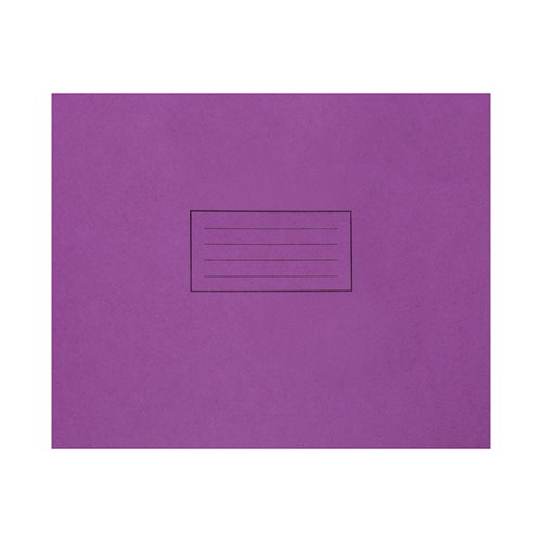 Silvine Handwriting Book 165x203mm Purple (Pack of 25) EX190