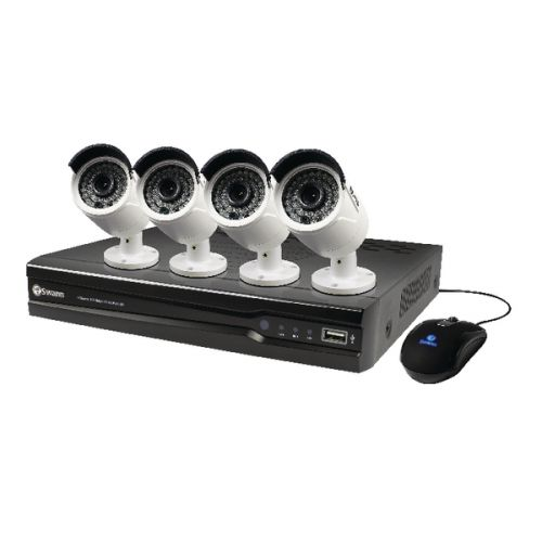 Swann 8 Channel 4 Camera 2TB NVR CCTV Kit SWNVK-874004-UK