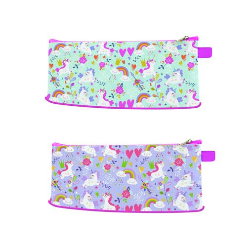 Just Stationery Unicorn Pencil Case (Pack of 12) 6858