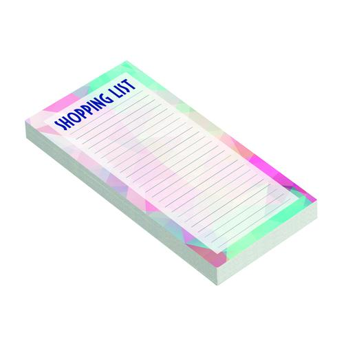 Shopping List Note Pad Ruled (Pack of 12) 302388