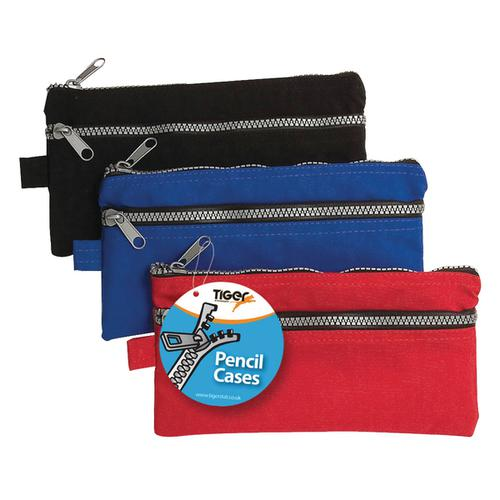 Chunky Zip Pencil Case (Pack of 12) 301317