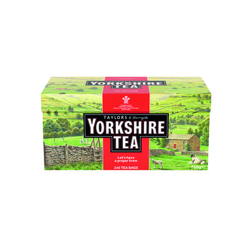 Yorkshire Tea Bags (Pack of 240) 1034