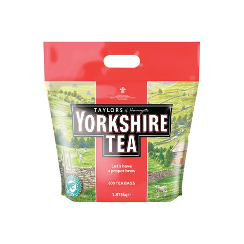 Yorkshire Tea Bags (Pack of 600) 5006