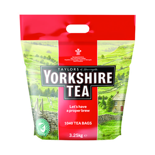 Yorkshire Tea Bags (Pack of 1040) 5007