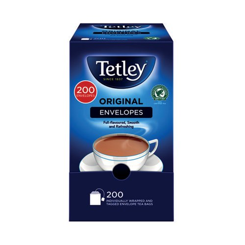 Tetley Envelope Teabags (Pack of 200) A08097