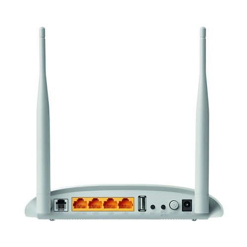 TP-Link Modem Router 300Mbps Wireless N USB VDSL/ADSL TD-W9970