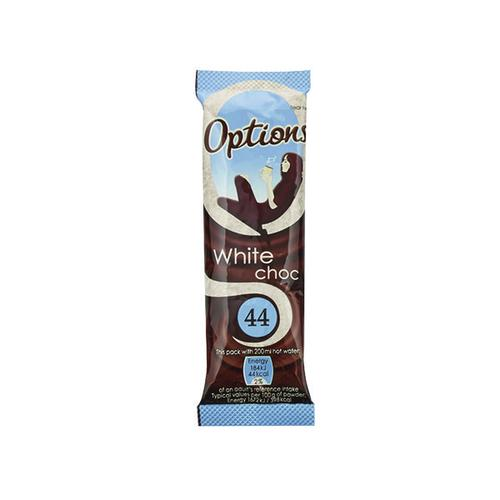 Options White Hot Chocolate 11g (Pack of 30) W550100