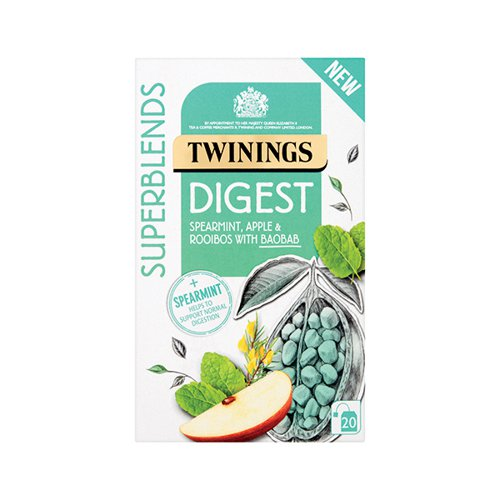 Twinings SuperBlends Digest HT (Pack of 20) F15168
