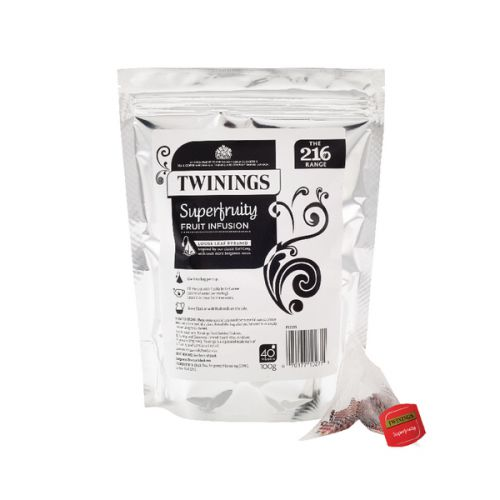 Twinings Superfruity Pyramid (Pack of 40) F12530