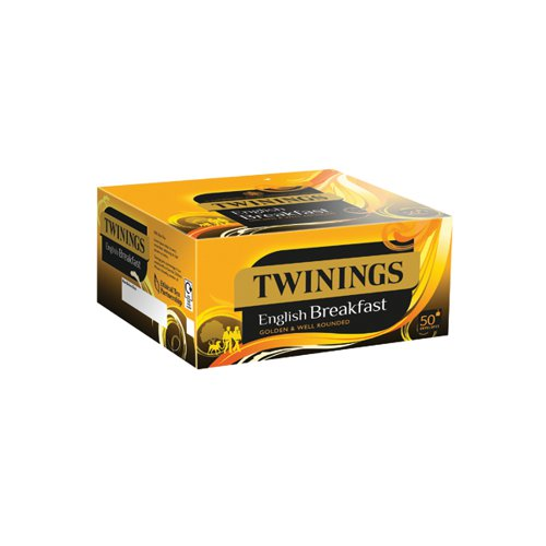 Twinings English Breakfast Envelope Tea Bags (Pack of 300) F09583