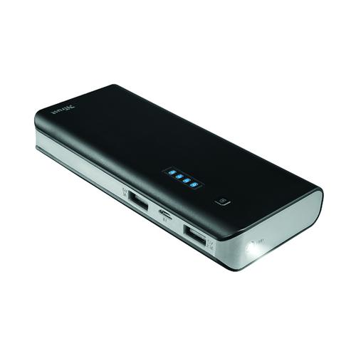 Primo Power Bank 10000mAh Black (2 USB ports) 21149