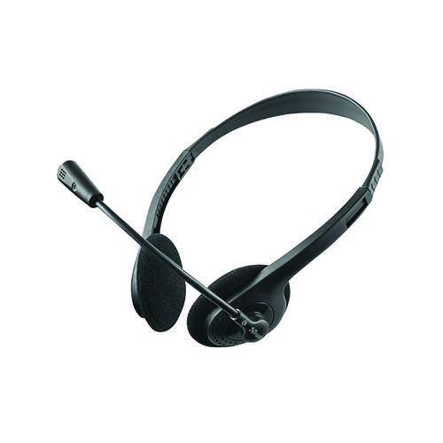 Trust Primo Chat Headset for PC and laptop (Remote inline volume control for speakers) 21665