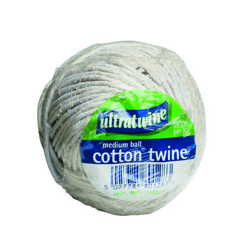 Ultratwine Cotton Twine Ball Medium (Pack of 12) PA0200100UL