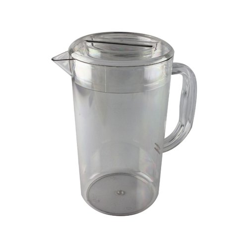 Clear Polycarbonate 1.4 Litre Jug With Lid (Completely dishwasher safe) PC64CW