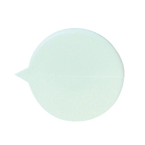 GoSecure Security Seals Plain Round White (Pack of 500) S1W