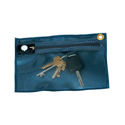 GoSecure Security Key Wallet 230x152mm Blue KW1