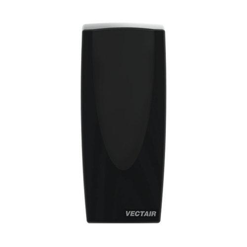 V-Air Solid MVP Air Freshener Dispenser Black (Pack of 6) VAIR-MVPB