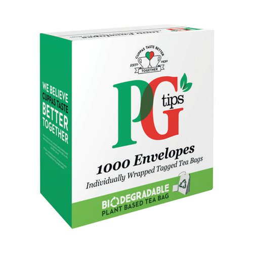 PG Tips Envelope Tea Bags (Pack of 1000) 68441863