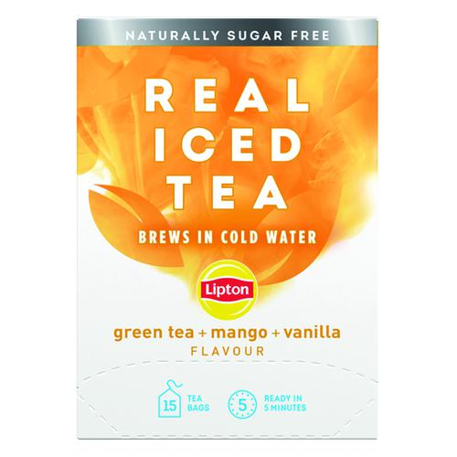 Lipton Cold Brew Green Tea Mango (Pack of 15) 67737992