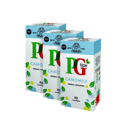 PG Tips Camomile Envelope (Pack of 25) 3For2 VF819649