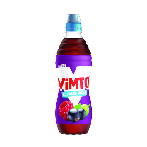 Vimto 500ml Still Juice No Added Sugar Sportscap (Pack of 12) 1176