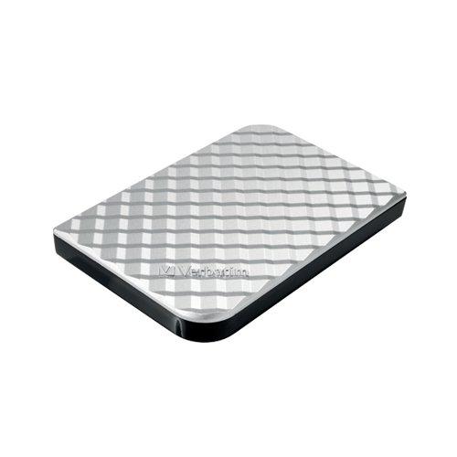 Verbatim Store n Go Gen 2 Portable HDD 1TB Silver 53197
