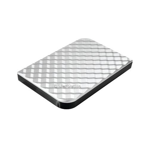 Verbatim Store n Go Gen 2 Portable HDD 2TB Silver 53198