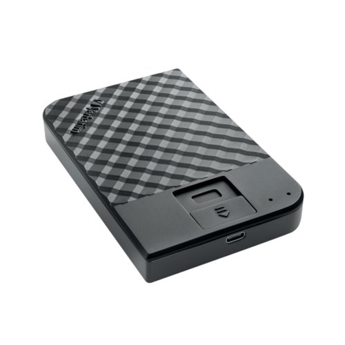 Verbatim Fingerprint Secure Hard Drive 1TB 53650