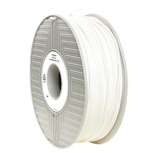Verbatim PLA 3D White Printing Filament Reel 2.85mm 1kg 55277