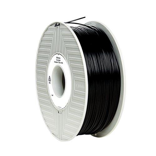 Verbatim 3D Printer Filament PLA 1.75mm 1kg Black 55318