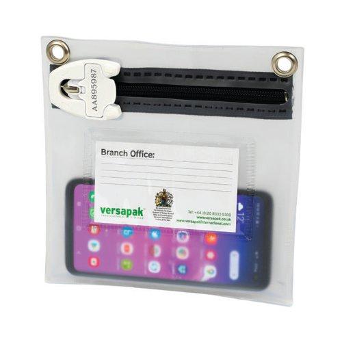 Versapak Mailing Wallet T2 W190 x H190mm Transparent KF2OQ