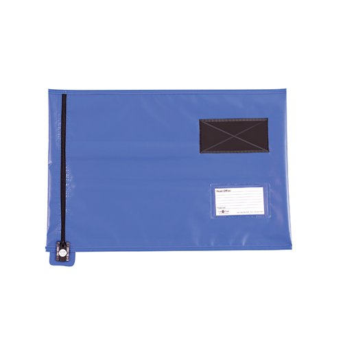 GoSecure Lightweight Security A3 Pouch Blue (Can be used with security seals sold seperately) CVF3