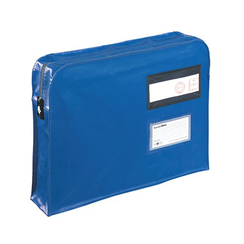 GoSecure Gusset Mailing Pouch 457x330x76mm Blue VFT3