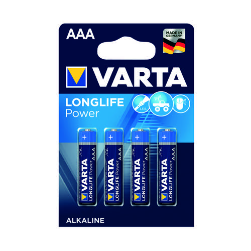 Varta AAA High Energy Battery Alkaline (Pack of 4) 4903620414
