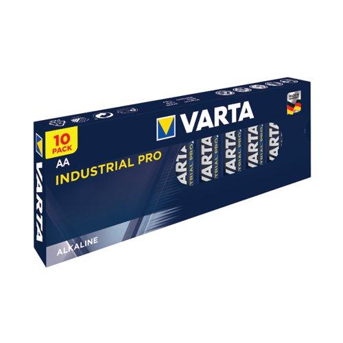 Varta Industrial Pro AA Battery (Pack of 10) 04006211111