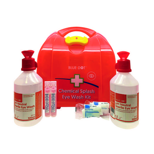 McKinnon Blue Dot Chemical Eye Wash Kit 1022220