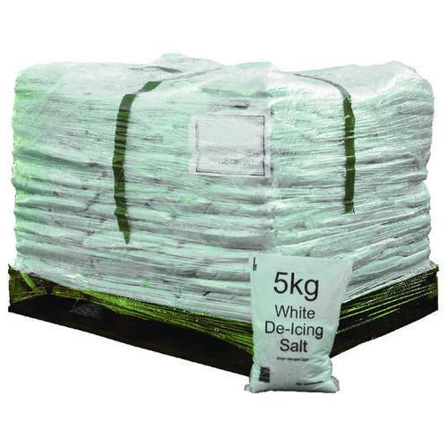 Salt Bag 5kg Pallet of 200 Bags (5kg per bag Complies to BS 3247) 314263