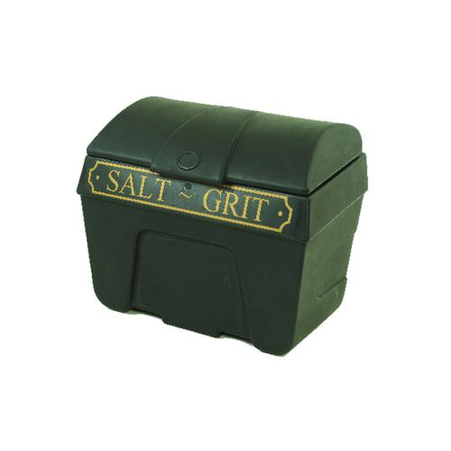 Winter Salt/Grit Bin Victorian No Hopper 200 Litre Black 317064