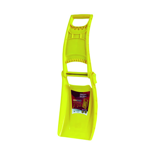 Yellow Winter Snowflex Foldable Snow Shovel 384063
