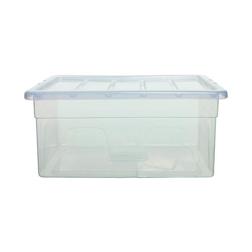 Whitefurze MidiSpaceMaster 38 Litre Clear S0956MDL0WF