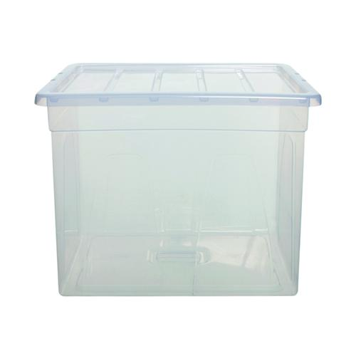 Whitefurze MaxiSpaceMaster 64 Litre Clear S0956MXL0WF