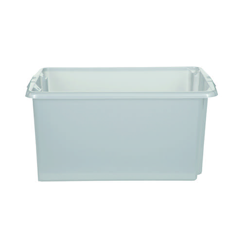 Stack And Store 52 Litres Large Natural Storage Box S01L800