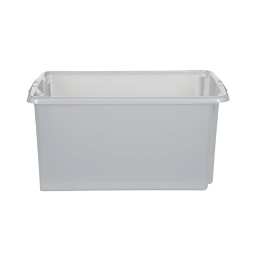 Stack And Store 52 Litres Large Natural Storage Box S01L8010