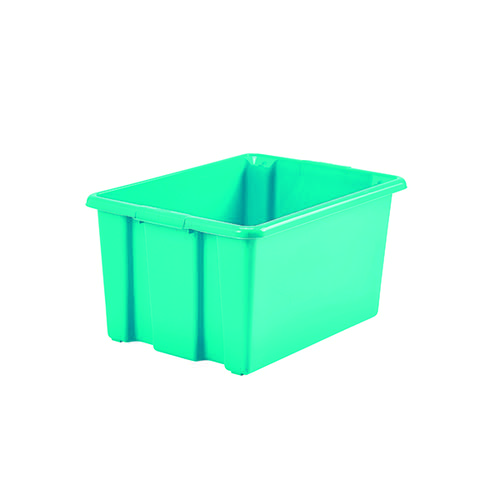 Stack And Store 14 Litres Small Teal Storage Box S01S809