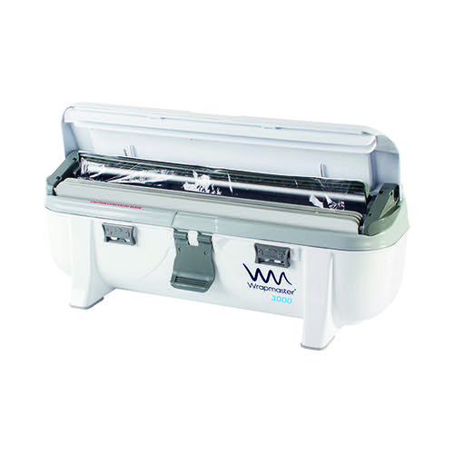 Wrapmaster 3000 Dispenser (Accepts refills up to 30cm in width dispenses foil or cling film) 63M98