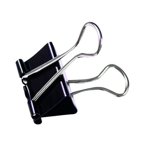 Foldback Clip 19mm Black (Pack of 100) 22481
