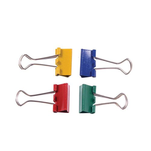 Foldback Clip 32mm Assorted (Pack of 10) 23091