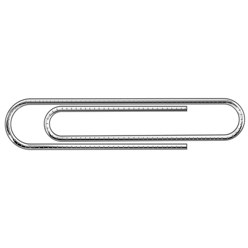 Essentials Paperclips Giant Serrated 73mm (Pack of 100) 32521
